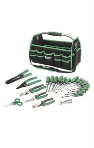 22 piece Electrician s Electrical Tool Set Kit