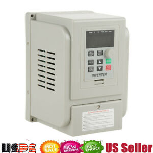 Single Phase Ac220v 1 5kw Frequency Drive Vfd Speed Controller For 3 phase Motor