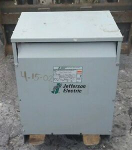 Jefferson Electric 45 Kva Dry Type General Purpose Transformer 3 Ph 423 3214 055
