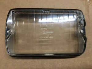 Cibie Lead Crystal Driving Lens With Seal Chrome Housing Original Vintage