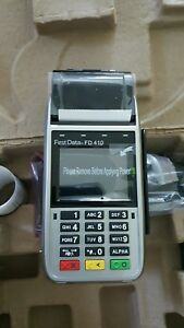 New first data fd410dw emv nfc wireless credit card machine New