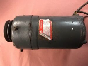 Dayton Model 2z848 Gear Motor 89 Rpm 1 3hp 115v