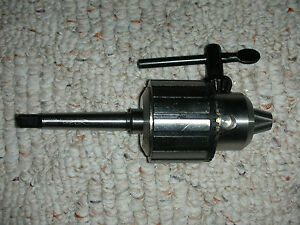 New Atlas Craftsman 6 Inch Lathe 1 2 Capacity Drill Chuck key 1 Mt Shank New