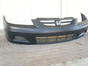Front Bumper Cover For Honda Accord Coupe 2 Door 2001 2002 98 99 00 01 02