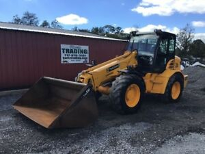 2005 Jcb Tm300 Telescopic Compact Wheel Loader W Cab Bucket Forks