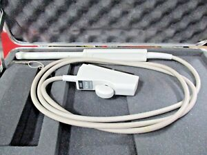 Acuson Evc8 Vaginal Ultrasound Probe With Case