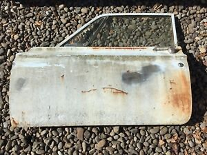 1963 63 Plymouth Savoy Dodge 330 B Body 2 Door Sedan Drivers Side Door Complete
