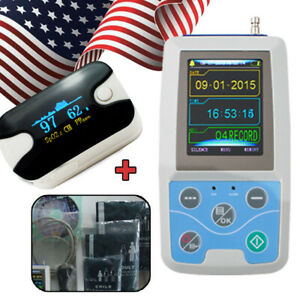 Contec Ambulatory Blood Pressure Monitor Abpm 24 Hours Holter Software us Seller