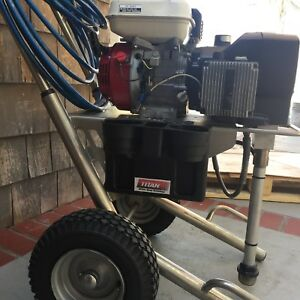 Titan Wagner sprayer Sprayteck 750 Gas Honda Airless Paint Sprayer