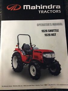 Mahindra 5555 5570 4wd Tier 4 Front End Loader Tractor Manual
