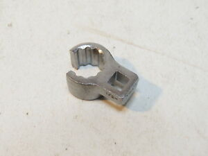 Bonney Snap On Vf16 1 2 Flare Nut Crowfoot Adapter 1 4 Drive