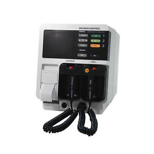 Physio Control Lifepak 9 With Printer And Hard Paddles Biomed Certified
