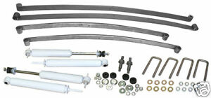 1956 Ford F100 Truck 4 Front 6 Rear Mono Leaf Springs Kit