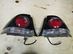 2001 2005 Jdm Lexus Is300 Altezza Oem Tail Lights With Black Covers