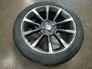 2011 2014 Ford Mustang 5 0 Gt Gray And Silver Wheel Rim Tire19x8 5 245 45 19 Oem