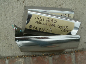 1951ford Grille Bars Nos