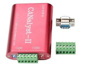 Canalyst ii Usb To Can Analyzer Can bus Converter Adapter Support Zlgcanpro Us