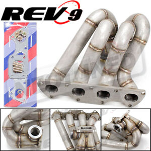 For Civic Integra B16 B18 T3t4 Gt35 t3 Top Mount Stainless Equal Turbo Manifold