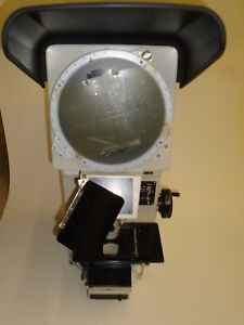 Nikon V 10 Bench Top 10 Vertical Beam Optical Comparator Profile Projector