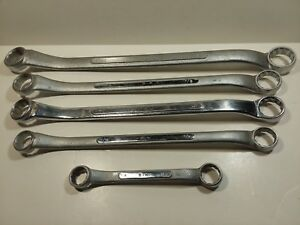 Sk Offset Double Box End Wrenches 1x15 16 7 8x13 16 2 3 4x11 16 11 16x5 8