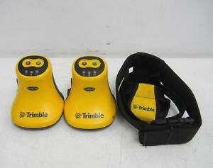 Lot Of 2 Trimble Geobeacon Gps Gis Survey Receiver 54970 00