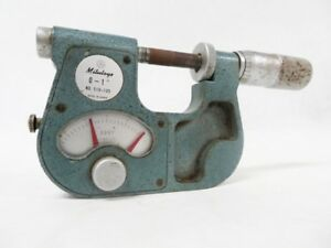 Mitutoyo Indicating Micrometer 510 105 1 Inch