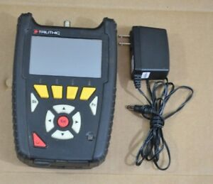 Trilithic 360dsp Home Cert Catv Docsis 3 0 Cable Meter 360 Dsp 3 1 Lite