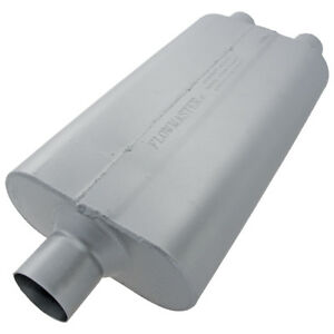 Flowmaster 8430502 50 Delta Muffler 409s Moderate Sound 3 In 2 5 Out