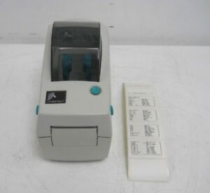 Zebra Lp 2824 Plus Thermal Barcode Label Printer 282p 201510 000