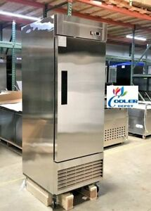 New 28 X 33 X 81 One Door Upright Freezer commercial Reach In Model 28f Nsf