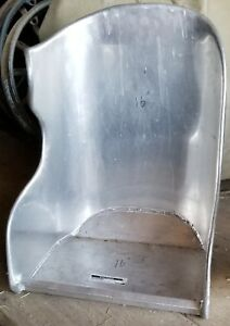 New Speedway Aluminum Curved 16 Bomber Seat For Hot Rod Or Speedster