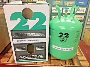 R22 Refrigerant Disposable Cylinder 10 Lb Virgin R 22 Free Shipping