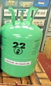 Refrigerant 22 R22 Disposable Cylinder 10 Lb Virgin R 22 Free Shipping