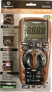 Southwire 14070t Technicianpro True Rms Cat Iv Multimeter 3346