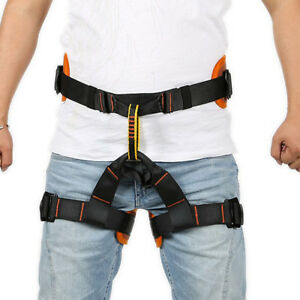 Climbing Harness Safe Seat Belts For Rock tree Climbing Outdoor Rappelling Equip