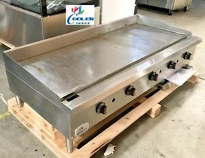 New 60 Toastmaster Griddle gas propane Thermostatic Grill Model Cd tg60 Nsf