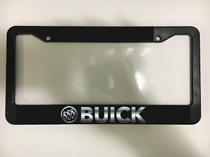 Buick Regal Lacrosse Auto Enclave Encore Casada Black License Plate Frame New