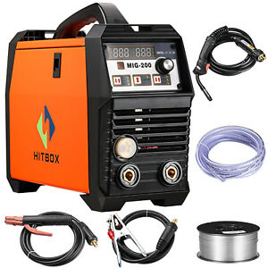 3 In 1 Mig Welder Mag Gas Gasless Mig Welder Stick Mma Lift Tig Welding Machine