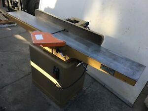 Nice 8 Ct 200 Heavy Duty Woodworking Jointer 2hp Single Phase