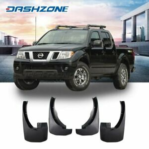 4pc Front Rear Oe Style Splash Mud Guards Flaps Fit 2005 2016 Nissan Frontier