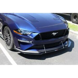 Apr Performance Carbon Front Wind Splitter For Ford Mustang W Performance 18 19