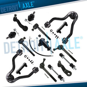 Upper Control Arms Sway Bars Ball Joints 95 99 K1500 Suburban Tahoe Yukon 4wd