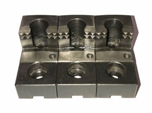 Schunk Szka 268 Tongue Groove Hard Claw Top Jaws For Gbk 315 Base Jaws