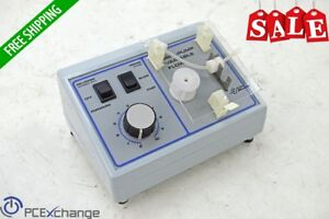 Fisher Traceable Mini Pump Variable Peristaltic Flow Lab Forward Reverse 13