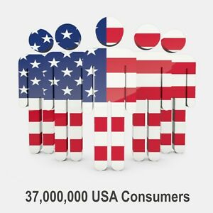 37 Millions Usa Consumers Email List For Email Marketing