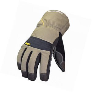 Youngstown Glove 11 3460 60 m Waterproof Winter Xt 200 Gram Thinsulate Gray And
