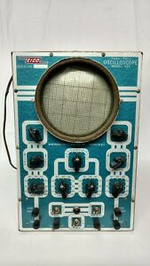 Vintage Eico Model 425 Oscilloscope Powers On