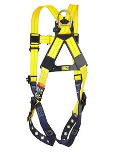 Dbi Sala Delta 3 Safety Harness And Shockwave 2 Lanyard Universal Size new