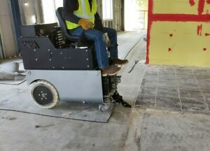 Ride On Floor Scraper Battery Powered Extremely Powerful Money Maker