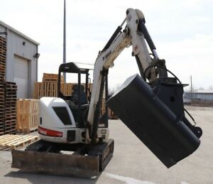 44 Hydraulic Ditching Grading Bucket For Bobcat Mini Excavators
